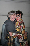 Colleen Zenk and friend at Opening Night of Odyssey - The Epic Musical starring Colleen Zenk, Eddie Korbich, Josh A. Davis, Emma Zaks and Janine Divita and cast on October 23, 2011 at the opening night party at mmfifty5, New York City, New York. (Photo by Sue Coflin/Max Photos)