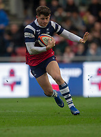 Bristol Bears' Piers O'Conor in action during todays match<br /> <br /> Photographer Bob Bradford/CameraSport<br /> <br /> Premiership Rugby Cup Round 4 - Bristol Bears v Exeter Chiefs - Saturday 26th January 2019 - Ashton Gate - Bristol<br /> <br /> World Copyright © 2018 CameraSport. All rights reserved. 43 Linden Ave. Countesthorpe. Leicester. England. LE8 5PG - Tel: +44 (0) 116 277 4147 - admin@camerasport.com - www.camerasport.com
