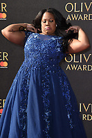 Amber Riley<br /> arriving for the Olivier Awards 2017 at the Royal Albert Hall, Kensington, London.<br /> <br /> <br /> &copy;Ash Knotek  D3245  09/04/2017