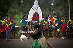 A traditional dancer performing as the Queen's Baton Relay visited Bamaga. In the host state of Queensland the Queen's Baton will visit 83 communities from Saturday 3 March to Wednesday 4 April 2018. As the Queen's Baton Relay travels the length and breadth of Australia, it will not just pass through, but spend quality time in each community it visits, calling into hundreds of local schools and community celebrations in every state and territory. The Gold Coast 2018 Commonwealth Games (GC2018) Queen's Baton Relay is the longest and most accessible in history, travelling through the Commonwealth for 388 days and 230,000 kilometres. After spending 100 days being carried by approximately 3,800 batonbearers in Australia, the Queen's Baton journey will finish at the GC2018 Opening Ceremony on the Gold Coast on 4 April 2018.