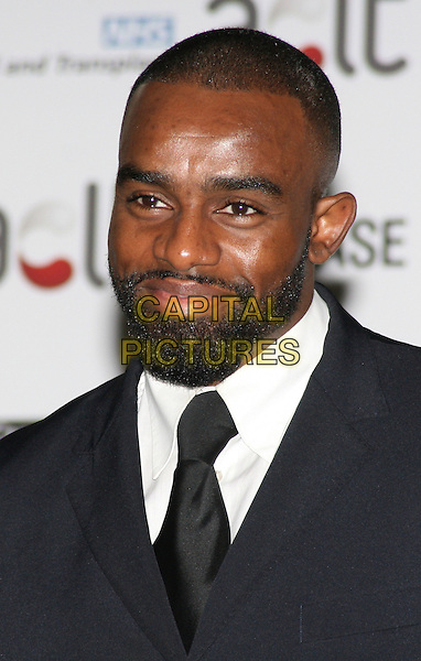 CHUCKY VENICE.Afro Caribbean Leukaemia Trust Gift Of Life Ball at the Inter-Continental Hotel, Park Lane, London, England, September 20th 2008..portrait headshot black tie beard facial hair .CAP/JIL.©Jill Mayhew/Capital Pictures