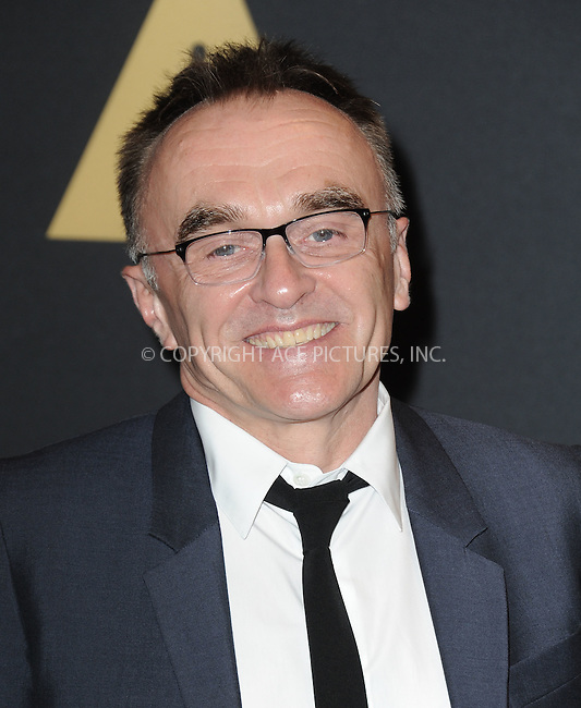 WWW.ACEPIXS.COM<br /> <br /> November 14 2015, LA<br /> <br /> Danny Boyle arriving at the Academy of Motion Picture Arts and Sciences' 7th Annual Governors Awards at The Ray Dolby Ballroom at the Hollywood &amp; Highland Center on November 14, 2015 in Hollywood, California<br /> <br /> <br /> By Line: Peter West/ACE Pictures<br /> <br /> <br /> ACE Pictures, Inc.<br /> tel: 646 769 0430<br /> Email: info@acepixs.com<br /> www.acepixs.com
