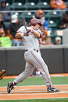 Kellen Killsgaard of the Stanford Cardinal against the Texas Longhorns at  UFCU Disch-Falk Field in Austin, Texas on Friday February 26th, 2100.  (Photo by Andrew Woolley / Four Seam Images)