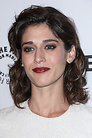 "HOLLYWOOD, LOS ANGELES, CA, USA - MARCH 24: Lizzy Caplan at the 2014 PaleyFest - ""Masters of Sex"" held at Dolby Theatre on March 24, 2014 in Hollywood, Los Angeles, California, United States. (Photo by Celebrity Monitor)"