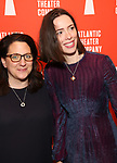 Gayle Taylor Upchurch and Rebecca Hall attends the Opening Night of the Atlantic Theater Company's New York Premier play 'Animal' at Jake's Saloon on June 6, 2017 in New York City.