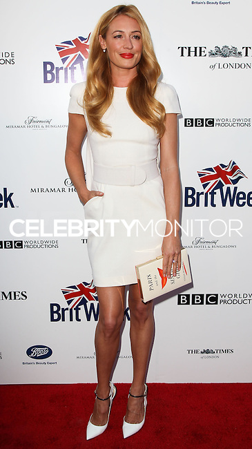 LOS ANGELES, CA, USA - APRIL 22: Cat Deeley at the 8th Annual BritWeek Launch Party on April 22, 2014 in Los Angeles, California, United States. (Photo by Celebrity Monitor)