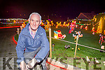 Tony Noonon pictured in Templeglantine for his annual display of Christmas lights which are used to raise funds for local charities.