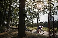 Oliver Naesen (BEL/IAM)<br /> <br /> 12th Eneco Tour 2016 (UCI World Tour)<br /> stage 2: Breda-Breda iTT (9.6km)