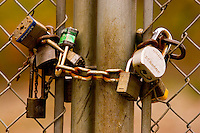 Industrial textures and abstracts - Security Locks