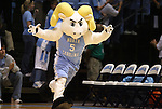 08 November 2008: Rameses, North Carolina's mascot. The University of North Carolina Tarheels defeated the University of North Carolina at Pembroke Braves 102-62 at the Dean E. Smith Center in Chapel Hill, NC in an NCAA exhibition basketball game.