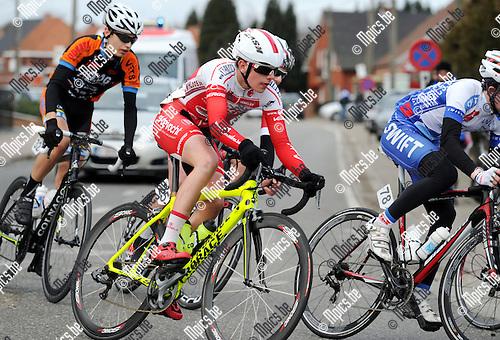 2015-02-28 / Wielrennen / seizoen 2015 / Junioren Rijkevorsel / Sven Clerebout<br /><br />Foto: Mpics.be
