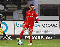 Christoph Moritz (1. FC Kaiserslautern) - 21.02.2018: SV Darmstadt 98 vs. 1. FC Kaiserslautern, Stadion am Boellenfalltor, 2. Bundesliga
