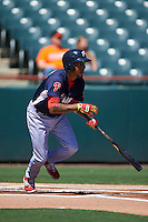 Reading Fightin Phils shortstop J.P. Crawford (2) at bat during a game against the Bowie Baysox on July 22, 2015 at Prince George's Stadium in Bowie, Maryland.  Bowie defeated Reading 6-4.  (Mike Janes/Four Seam Images)