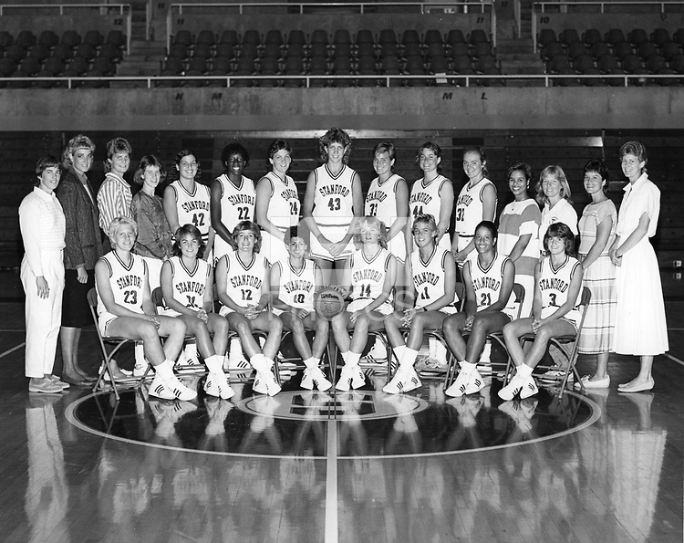 1985: Women's Basketball Team.<br />