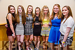 Enjoying the Kerry Youth Club Disco at the Brandon Hotel on Friday were Alice O'Connor, Rachel Murphy, Nichole Clifford, Niamh Dion, Sadie Knightly Laura Murphy, Roisin Moriarty from Sneem Youth Club