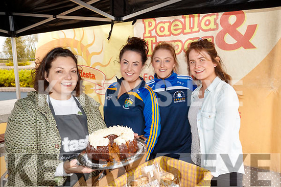 Doireann Barrett The Gluten Free Kitchen Company with Orla McSweeney, Grace McCarty and Emer Madigan,  pictured at the 'Food 4 Thought' event, held at IT, Tralee North Campus, on Wednesday morning last.