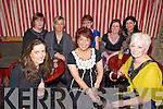 40th Birthday : Mary Healy, Ballylongford, centre front, celebrating her 40th birthday with friends at the Horseshoe Bar, Listowel on Saturday night last,..Front: Jane Kearney, Mary Healy & Marie Lyons. Back: Deidre O'Neill, Helen O'Neill, Helen Culhane, Aileen O'Donoghue & Jacqueline O'Donoghue.