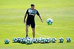 Getafe's second coach Jose Vegar during training session. September 12,2017.(ALTERPHOTOS/Acero)