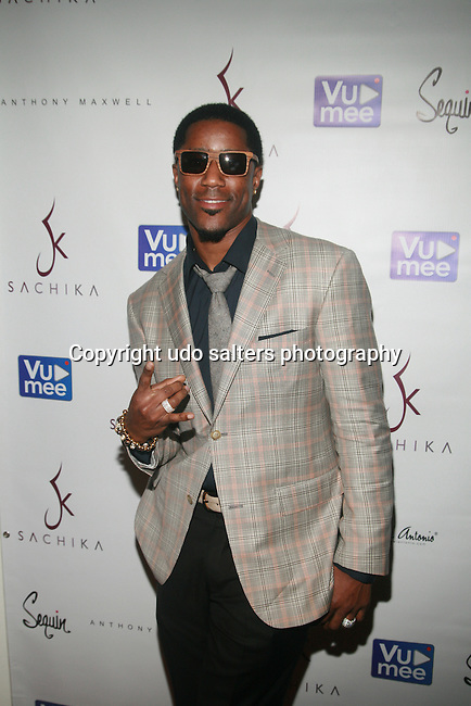 NFL Players Nate Burleson-Arrivals SACHIKA Presented by Vumee Fall/Winter 2012 collection<br /> Ivanka: If We Ever Meet Again<br /> at Style360 New York Fashion week,  2/14/11