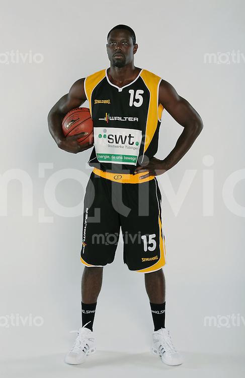 Basketball 1. Bundesliga  2008/2009   01.09.2008  Walter Tigers Tuebingen  Michael Haynes (WT)