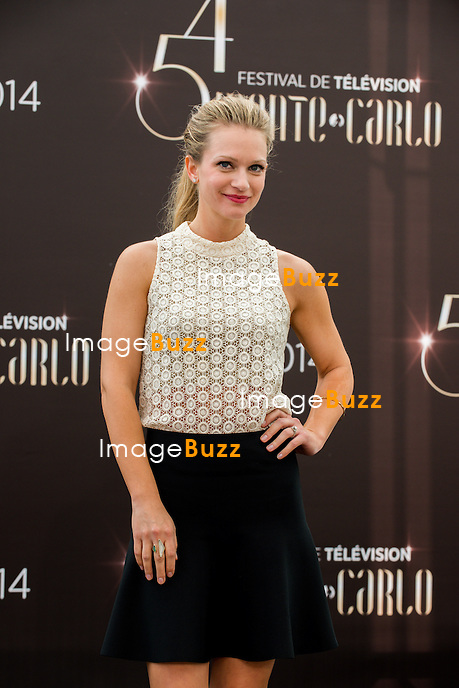 "Andrea Joy Cook from the series ""Criminal Minds"" attends photocall at the Grimaldi Forum on June 9, 2014 in Monte-Carlo, Monaco."