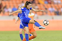 Houston, TX - Saturday July 22, 2017: Brooke Elby during a regular season National Women's Soccer League (NWSL) match between the Houston Dash and the Boston Breakers at BBVA Compass Stadium.