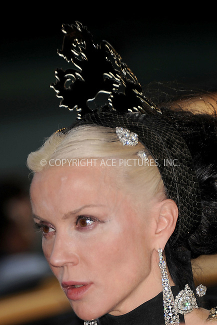 WWW.ACEPIXS.COM . . . . . .June 6, 2011...New York City.....Daphne Guinness attends the 2011 CFDA Fashion Awards at Alice Tully Hall, Lincoln Center on June 6, 2011 in New York City......Please byline: KRISTIN CALLAHAN - ACEPIXS.COM.. . . . . . ..Ace Pictures, Inc: ..tel: (212) 243 8787 or (646) 769 0430..e-mail: info@acepixs.com..web: http://www.acepixs.com .