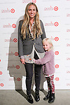 Jeanann Williams and daughter Ruby arrive at the Annie For Target collection celebration and pop-up shop at Stage 37 in New York City on November 4, 2014.