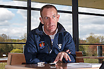 FOR SUNDAY.Kenny Shiels in his office at Kilmarnock's Garscube training ground