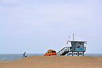 Gray Watch, Santa Monica Beach