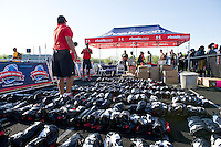 Under Armour gear awaits the participants.