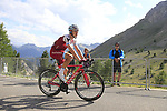 Tony Martin (GER) Katusha Alpecin climbs Col d'Izoard during Stage 18 of the 104th edition of the Tour de France 2017, running 179.5km from Briancon to the summit of Col d'Izoard, France. 20th July 2017.<br /> Picture: Eoin Clarke | Cyclefile<br /> <br /> All photos usage must carry mandatory copyright credit (&copy; Cyclefile | Eoin Clarke)