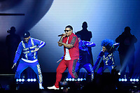 LONDON, ENGLAND - JUNE 22: Daddy Yankee (Ramon Luis Ayala Rodríguez) performing at O2 Arena on June 22, 2019 in London, England.<br /> CAP/MAR<br /> ©MAR/Capital Pictures /MediaPunch ***FOR USA AND CANADA ONLY***