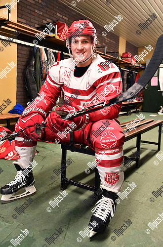 2017-02-01 / ijshockey / Seizoen 2016-2017 / HYC Herentals / Mitch Morgan<br /> <br /> ,Foto: Mpics.be