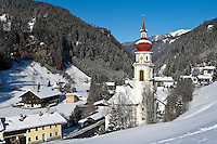 Austria, Tyrol, village Gries am Brenner: resort at Brenner-Passroad, birthplace of Austrian actor Tobias Moretti
