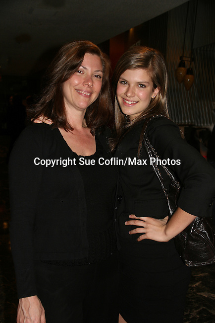 One Life To Live's Kelley Missal poses with her mom Karen at the 6th Annual ABC/SoapNet salutes Broadway Cares/Equity Fights Aids An Evening of Musical Entertainment & Comedy on March 21, 2010 at the New York Marriott Marquis, New York City, New York. (Photo by Sue Coflin/Max Photos)
