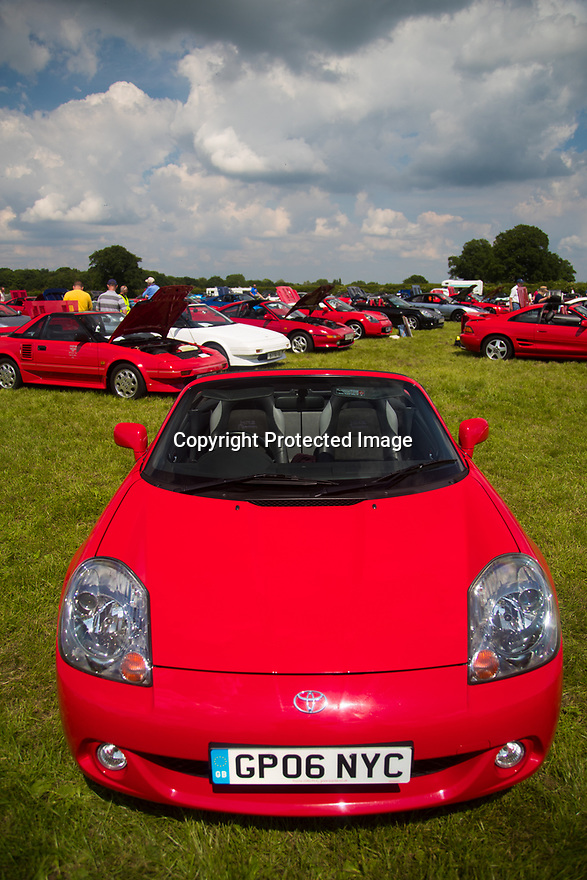 03/06/18<br /> <br /> Toyota MR2 Day at Hatton Country World, Warwickshire.<br /> <br /> All Rights Reserved: F Stop Press Ltd. +44(0)1335 344240  www.fstoppress.com.