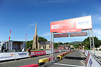 Picture by Simon Wilkinson/SWpix.com 22/06/2017 - Cycling - HSBC UK British Cycling National Championships - Road, Isle of Man 22/25 June 2017 -  Time Trials<br /> The Brief - HSBC UK Brother - branding