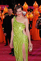 "Milla Jovovich attending the ""20th Life Ball"" AIDS Charity Gala 2012 held at the Vienna City Hall. Vienna, Austria, 19th May 2012...Credit: Wendt/face to face /MediaPunch Inc. ***FOR USA ONLY**"