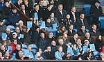 Rangers board of directors during blue card protest