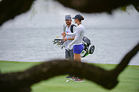 Michelle Wie (USA) looks over her approach shot on 18 during round 3 of  the Volunteers of America Texas Shootout Presented by JTBC, at the Las Colinas Country Club in Irving, Texas, USA. 4/29/2017.<br /> Picture: Golffile | Ken Murray<br /> <br /> <br /> All photo usage must carry mandatory copyright credit (&copy; Golffile | Ken Murray)