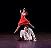 ENB Choreographics<br /> at the Lilian Baylis Studio, Sadler's Wells, London, Great Britain <br /> 18th June 2015 <br /> Rehearsal <br /> <br /> <br /> Memory of what could have been <br /> choreography by Renato Paroni de Castro <br /> <br /> Sarah Kundi <br /> Vitor Menezes<br /> Guiherme Menezes<br /> <br /> <br /> <br /> <br /> <br /> Photograph by Elliott Franks <br /> Image licensed to Elliott Franks Photography Services