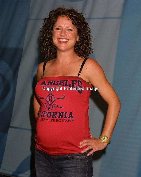 ©2003 KATHY HUTCHINS  / HUTCHINS PHOTO AGENCY.CBS Television Critics Tour Summer 2003 Party.Hollywood & Highland .Lucky Strike Bowling Alley.Hollywood, CA.July 20, 2003..JEAN LOUISA KELLY