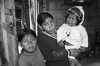 Children living in utter poverty in the slums of Quito, Ecuador. From photo assignment for 'Children International' December 2010