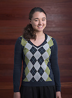 Emiko Schwab '16 - Portrait taken for Hameetman Career Center (HCC) brochure, March 3, 2016.<br /> (Photo by Marc Campos, Occidental College Photographer)