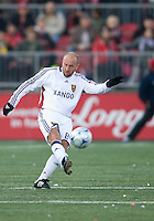 17 October 2009: Real Salt Lake midfielder Clint Mathis #84 in action during an MLS game between Toronto FC and Real Salt Lake at BMO Field in Toronto..Toronto FC won 1-0..
