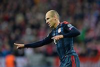 FUSSBALL   CHAMPIONS LEAGUE   SAISON 2013/2014   Vorrunde FC Bayern Muenchen - ZSKA Moskau       17.09.2013 JUBEL  Bayern Muenchen; Arjen Robben nach seinem Tor zum 3-0
