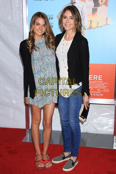 NEW YORK, NY - JULY 14: Crista Miller and daughter Charlotte attends the New York Premiere of &quot;Wish I Was Here&quot; at the AMC Loews Lincoln Square Cinemas on July 14, 2014 in New York City<br /> CAP/LNC/TOM<br /> &copy;LNC/Capital Pictures
