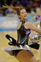 Action from the ANZ Championship 2014 - Haier Pulse v Waikato Magic at Te Rauparaha  Arena Centre, Porirua, Wellington, New Zealand on Monday 5 May 2014. <br /> Photo by Masanori Udagawa. <br /> www.photowellington.photoshelter.com.