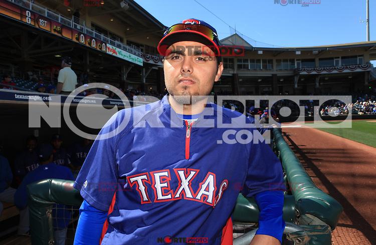 Joakim Soria of Texas Rangers during the  Spring Trainig  2013  in Arizona..23 febrary 2013 (©NortePhoto)